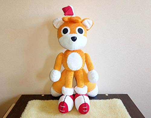 - Tails doll inspired plush , Custom Tails Doll Plushie plush inspired fun art custom plush 45 cm minky