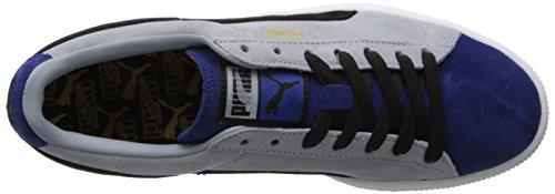 Strisce Da Uomo In Camoscio E Blocca Classiche Sneaker Limoges / Nero / Oro Squadra