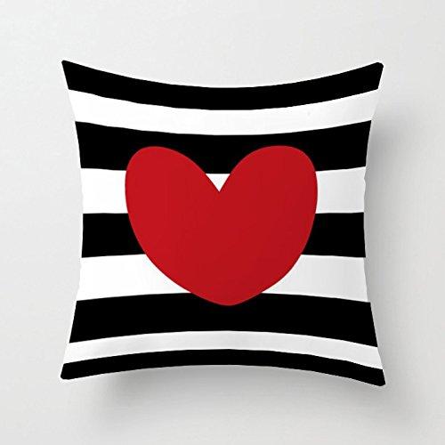 Chengbao simple en blanco y negro estilo almohada suave ...