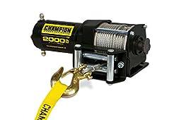 Champion Power Equipment 12003 2000 lb. ATV/UTV Winch Kit (12V DC)