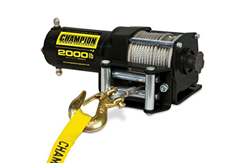 Champion 2000-lb. ATV/UTV Winch Kit (Powered Winch)