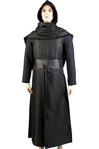 CosplaySky Star Wars: The Force Awakens Cosplay Sith Kylo Ren Costume Whole Set (Kylo Ren Cosplay Costume)