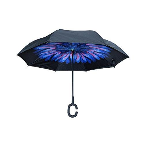 Nufoot Topsy Turvy Inverted Umbrella