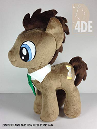 Able Doctor Whooves 11th Doctor Who My Little Pony Plush Handmade Dolls Other Dolls