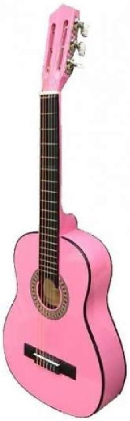 Guitarra rocio c7n (1/2) cadete 85 cms rosa