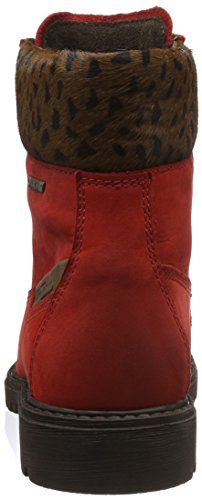 camel active Outback GTX 72, Botines Para Mujer Rojo (red/brown 21)