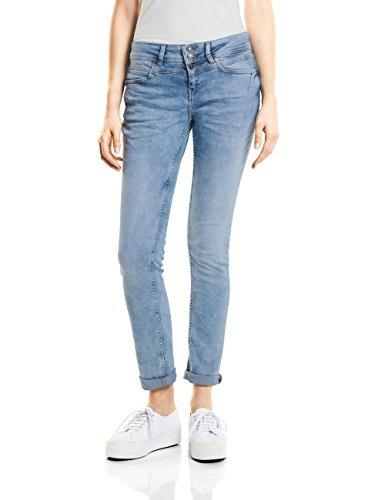 Authentic Street Bleu One Random Slim Femme Jean Bleach 11376 TTSIr