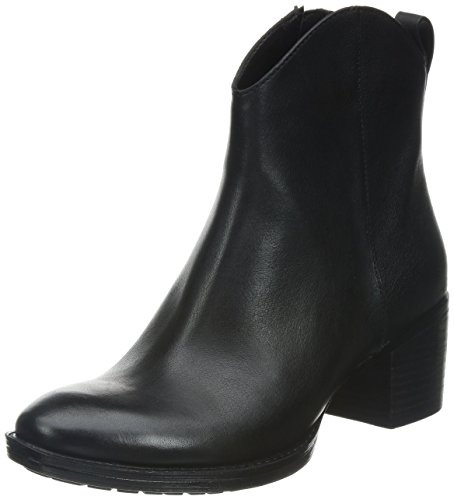 Clarks Movie Act - Botas de cuero para mujer negro - Schwarz (Black Leather)