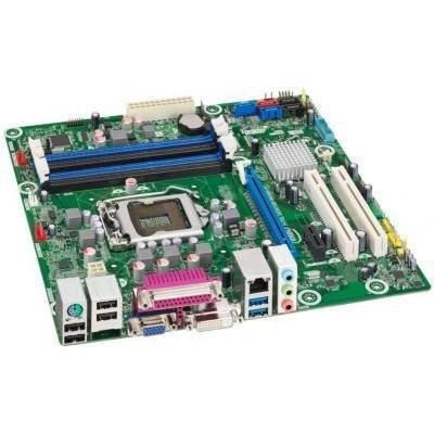 Intel Pci Usb (Intel BLKDQ77CP - LGA1155 Intel Q77 Chipset MicroATX Motherboard DDR3 SATA 6Gb/s VGA/DVI PCIE3.0 Gigabit LAN 7.1CH HD Audio USB3.0)