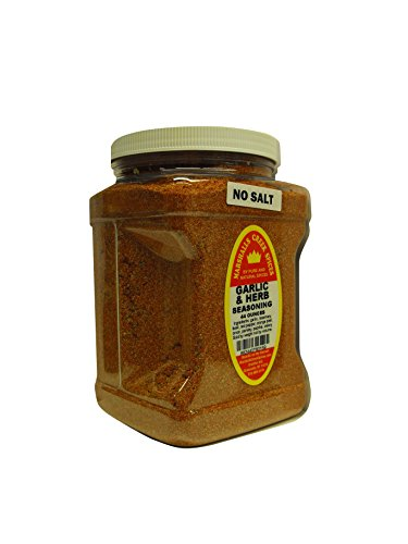 Marshalls Creek Spices Family Size Garlic and Herb No Salt Seasoning, 44 Ounce