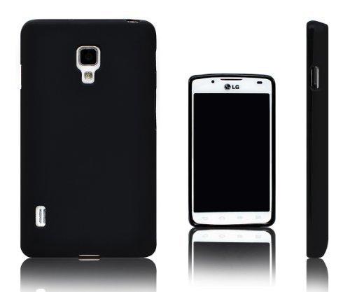 Xcessor Vapour Flexible TPU Case for LG Optimus L7 II P710 / P713. Black