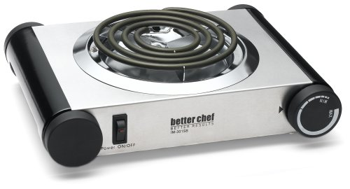 Better Chef - Electric Buffet Range - Silver