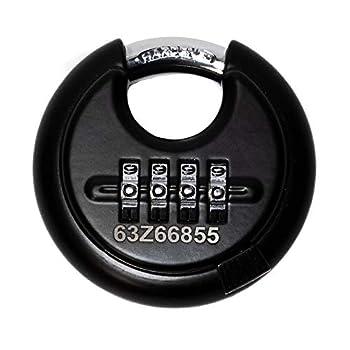 Image of DaVinci Disc Lock - Black 10 Pack Combination Padlocks