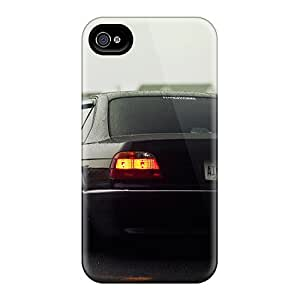 WAWOCASE Slim Fit Tpu Protector UKN943jcEh Shock Absorbent Bumper Case For Iphone 4/4s