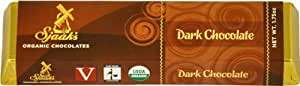 Sjaak's Organic Chocolate Bar, Dark Chocolate, 1.75 Ounce (Pack of 9)