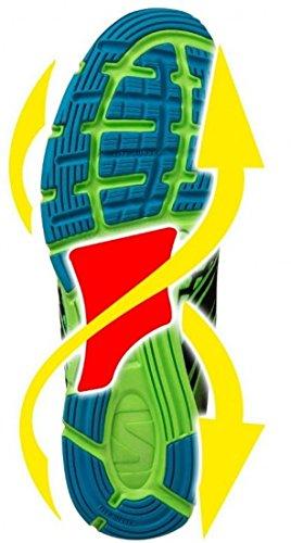 Zapatillas–Race Hombres Verde/Negro Tamaño 442/3
