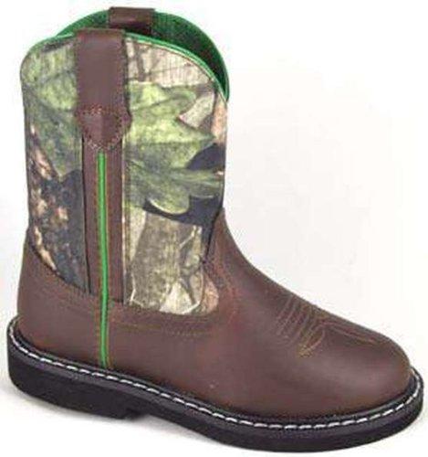 Smoky Mountain Boys' Hickory Wellington Western Boot Round Toe - 1186C