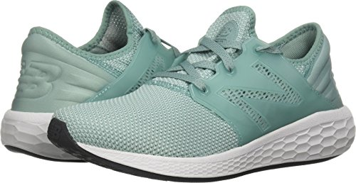 (New Balance Women's Cruz v1 Fresh Foam Running Shoe, Mineral Sage, 7 D US)