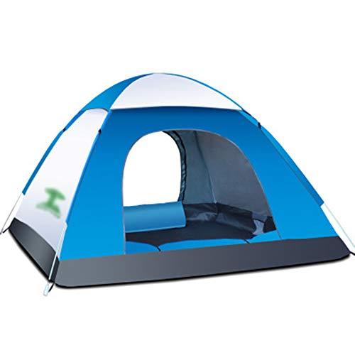 犯罪惑星集める野生のビーチテント、屋外の自動スピードオープンキャンプテント屋外キャンプツーリストテント (色 : DE)