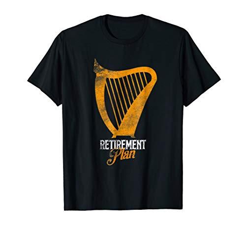 Harping Retirement Plan Harp Player Shirt Harpist Costume]()
