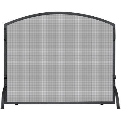 UniFlame S-1033 Single Panel Wrought Iron Arch Top Screen, Small