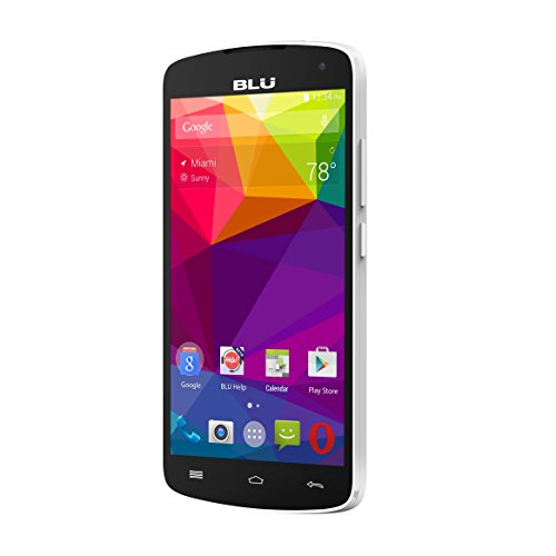 BLU Studio X8 HD S530 Unlocked GSM Dual-SIM Octa-Core Android Phone - White (Certified Refurbished)