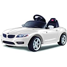 Vroom Rider BMW Z4 Rastar 6V Battery Operated/Remote Controlled Ride-On, White