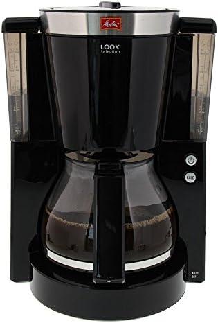 Melitta Look Selection - Cafetera de goteo, 1000 W, color negro: Amazon.es: Hogar