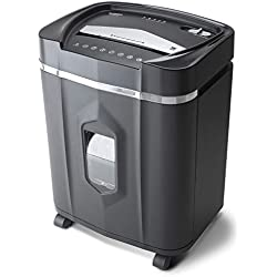 Aurora AU1640XA Anti-Jam 16-Sheet Crosscut Paper/CD and Credit Card Shredder/ 5-Gallon pullout Basket 30 Minutes Continuous Run Time