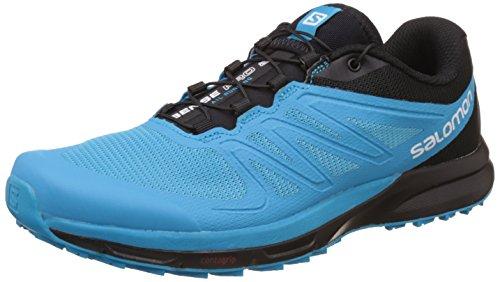 Zapatillas De Running Salomon Hombres Sense Pro 2 Scuba Blue / Black / White