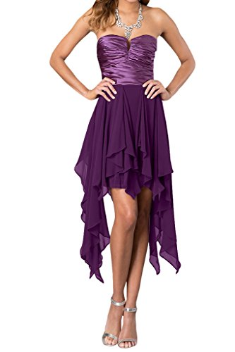 Ivydressing - Vestido - trapecio - para mujer morado