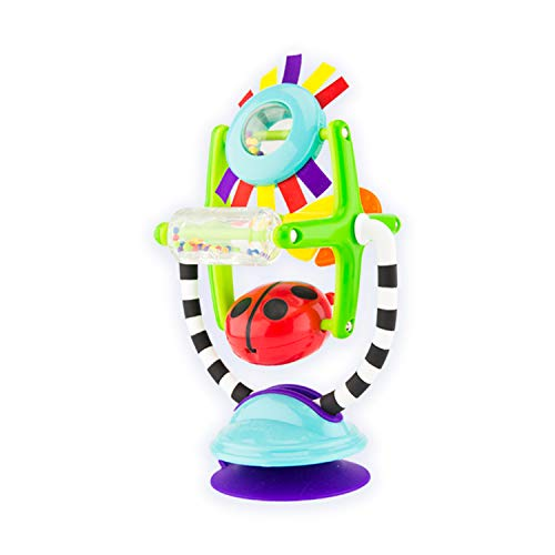 (Sassy Sensation Station 2-in-1 Suction Cup High Chair Toy | Developmental Tray Toy for Early Learning | for Ages 6 Months and Up)