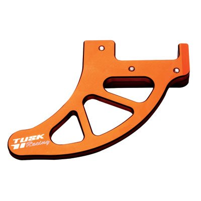 Tusk Billet Rear Disc Brake Guard Orange - Fits: KTM 300 XC-W (E-Start) 2008-2015 by Tusk