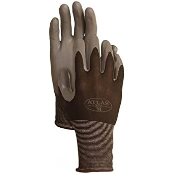 Attractive 4 Pack Showa Atlas 370BBK Atlas Nitrile Tough Gloves   Large