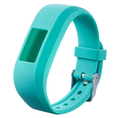 Wristband ,Vanvler Perfect Replacement Sports Silicone Watch Bracelet Strap Band For Garmin VivoFit Jr Junior Kids Fitness (Mint - Sale Frames Fit For