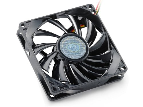 Cooler Master Sleeve Bearing 80mm Silent Fan for Computer Cases and CPU Coolers