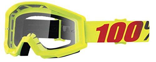 100% Strata Adult Off-Road Goggles - Mercury/Clear Lens/One - Mercury Goggles