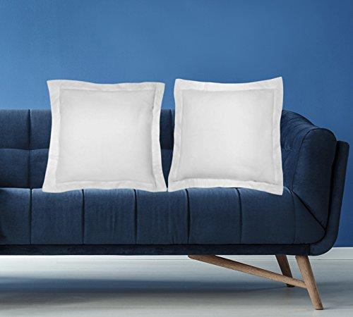 American Pillowcase Euro Shams 26x26 Set of 2 Pillow Covers - Luxury 100% Egyptian Cotton (2 Pack, European 26 x 26, (Euro Sham Set)