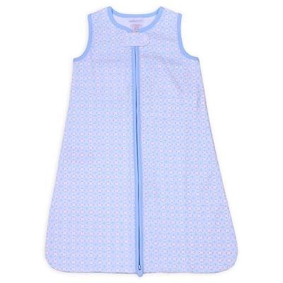 Triboro ZT6250 Soothe time Snooz. E Sack, Cotton Knit - Blue Pinwheel
