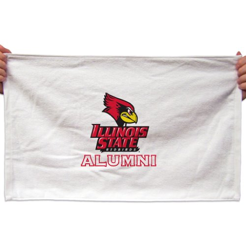 (VictoryStore Towels - Illinois State University Rally Towel, Alumni, Set of 3)