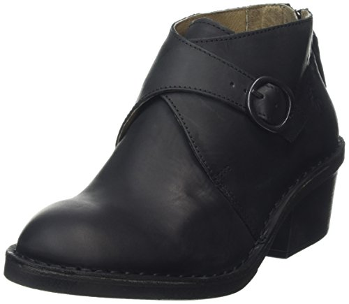 FLY Dabo890fly Negro London de 000 Botines Black Mujer tobillo 11waqrnxS