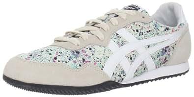 Onitsuka Tiger Unisex Serrano Sneaker,Mint/White,10 M US Men's/11.5 M US Women's
