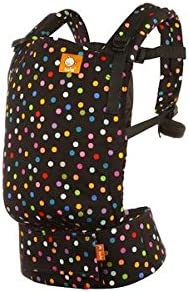 Black with Multi-Colored Dots Confetti Dot 45 lb Baby Tula Free-to-Grow Baby Carrier 7 Lightweight Adjustable Newborn to Toddler Carrier Ergonomic Inward Front and Back Carry Easy-to-Use