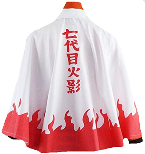 Naruto 7th Hokage Costume (Naruto 7th Hokage Uzumaki Naruto cosplay costume)