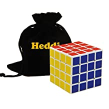 Heddi Educational Puzzle Toy Speed Cube Puzzle 4x4x4 White