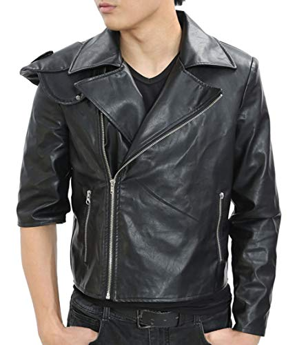 Mad-Max Costume Fury Road Motorcycle Jacket Cool Black PU Handmade S