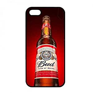 Bud Light Beer Hard Plastic Black Cover, Bud Light Beer iPhone 5/iPhone 5S, Bud Light Beer Phone Funda