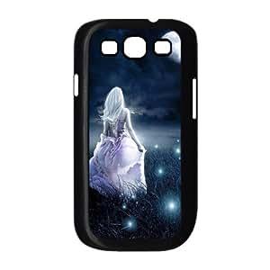 Diy Beautiful Fairy Phone Case for samsung galaxy s3 Black Shell Phone JFLIFE(TM) [Pattern-2] Kimberly Kurzendoerfer