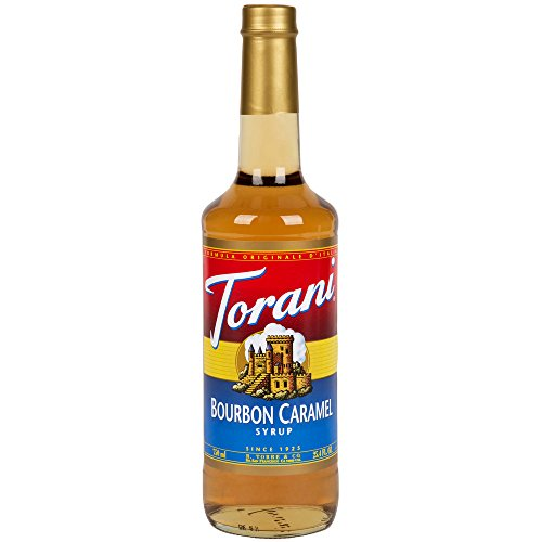 Torani Bourbon Caramel Syrup 750ml