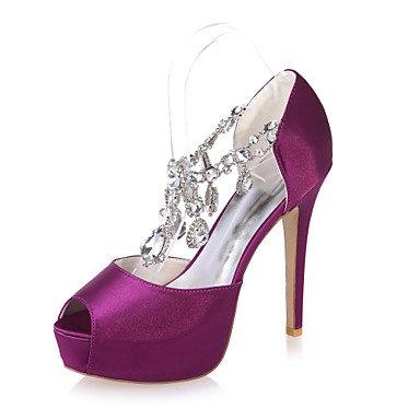 Purple Más Toe Mujer La Sandalias Disponibles Fiesta Colores Zapatos Negro 5En Noche Sobre amp;Amp; De Boda De Peep amp;Amp; Boda Zapatos Boda x1B6tB